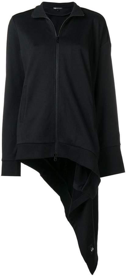 Y-3 asymmetric track jacket