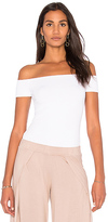 Michael Lauren Parket Off the Shoulder Top in White. - size L (also in XS)