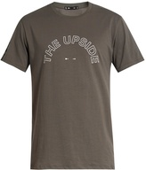 The Upside Logo-print crew-neck cotton T-shirt