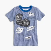 J.Crew Boys' glow-in-the-dark fossil T-shirt in the softest jersey