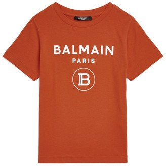 Balmain Kids Logo Short-Sleeved T-Shirt (4-16 Years)