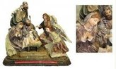"""Mark Roberts Angels at the Nativity"""" Christmas Table Top Decoration 15"""""""