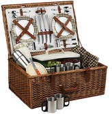 Picnic at Ascot London Dorset Basket Set With Coffee Service Set
