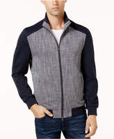 Vince Camuto Men's Scratch Weave Bomber Jacket