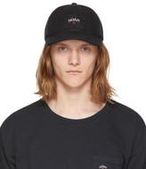 Noah Nyc Black Wool Logo Cap