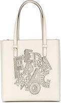 Salvatore Ferragamo cut-out detail tote - women - Calf Leather - One Size