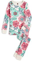 Tea Collection Girl's Ayla Fitted Two-Piece Pajamas