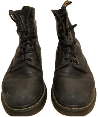 Dr. Martens 1460 Pascal (8 eye) Black Leather Ankle boots