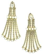 Elizabeth Cole Women's Peggy Crystal Drop Earrings