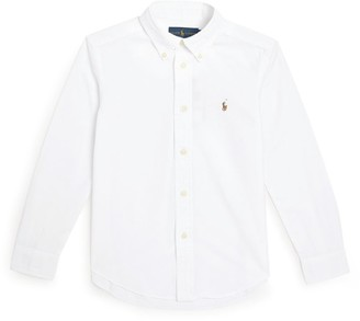 Ralph Lauren Kids Logo Shirt (5-7 Years)