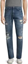 True Religion Geno No Flap Slim Fit Jeans