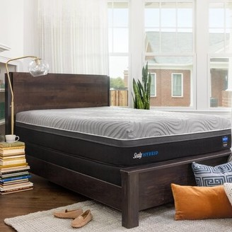 "Sealy Performance Kelburn II 13"" Firm Hybrid Mattress and Box Spring Mattress Size: Full, Box Spring Height: Standard Profile (9"")"