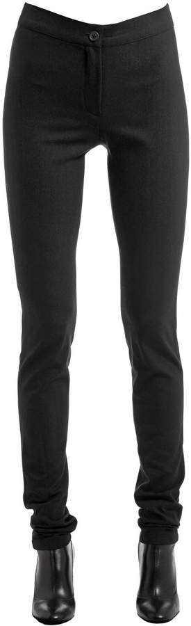 Ann Demeulemeester Stretch Wool Leggings