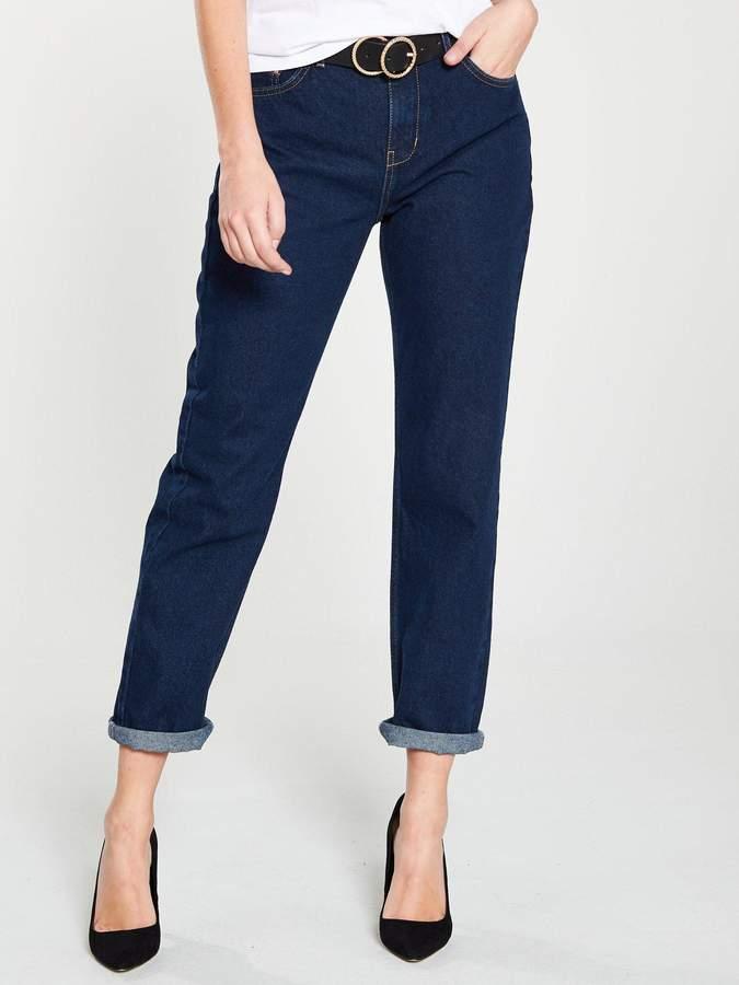 7efdd687f5 Tapered Boyfriend Jeans - ShopStyle UK