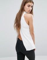 Missguided Wrap Back Top