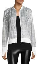 Blanc Noir Feather Weight Heathered Jacket