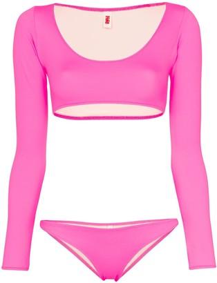 Solid & Striped Colette long sleeved bikini