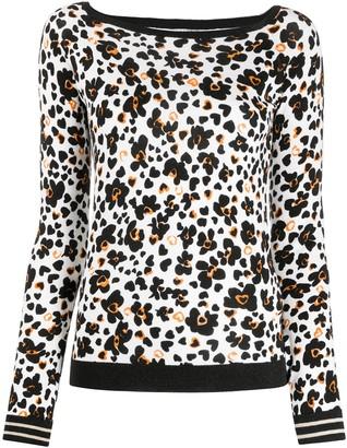 Liu Jo Pop Flower print jumper