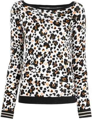 Liu Jo Pop Flower print jumper
