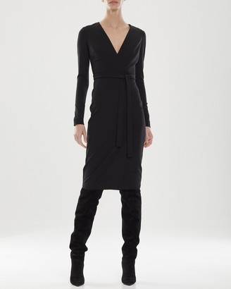 Halston Greer Knit Suiting Dress