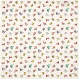 Gucci Monsters print silk pocket square