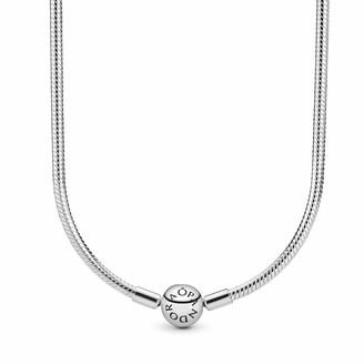 Pandora Women Silver Chain Necklace - 590742HV-40
