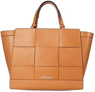Brahmin Belo Petra II Satchel (Tan) Handbags