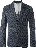 Giorgio Armani textured button up blazer