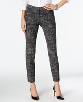 Alfani Petite Printed Comfort-Waist Skinny Pants, Created for Macy's