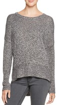 Aqua Marled Crewneck Sweater