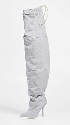Unravel Project Stiletto Heel Elephant Boots