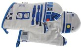 """Star Wars I AM R2-D2"""" Oven Gloves, Fabric, Multi-Colour, 1-Pair"""