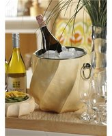 Wine & Champagne Cooler - Mango Wood and Stainless Steel