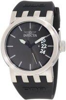 Invicta Women's 10411 DNA Urban Black Dial Black Silicone Watch