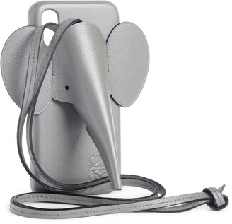 Loewe Elephant iPhone X/Xs Case & Crossbody Strap