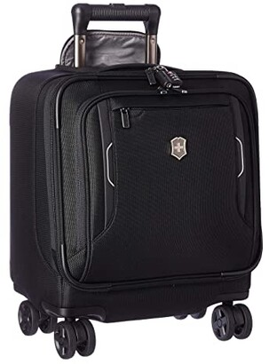 Victorinox Werks Traveler 6.0 Wheeled Boarding Tote (Black) Luggage