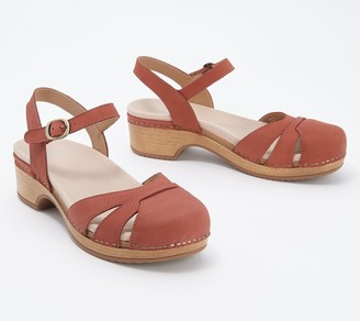 Dansko Milled Nubuck Leather Sandals - Betsey