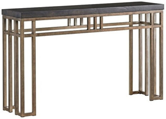 Tommy Bahama Cypress Point Montera Travertine Console Table