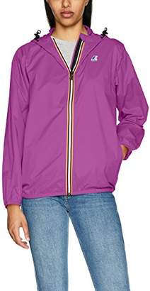 K-Way Women's Claudette Trenchcoat Long Sleeve Jacket, (Manufacturer Size:5)