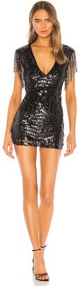 superdown Carly Fringe Mini Dress
