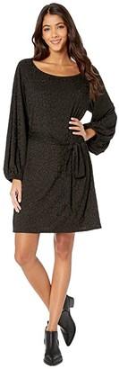 Show Me Your Mumu Rachel Dress (Cheetah Stretch Black) Women's Clothing