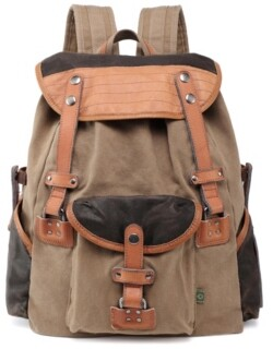TSD BRAND Tapa Canvas Backpack