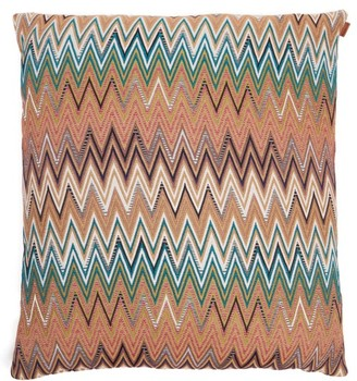 Missoni Home Vitim Shades Of Brown Large Cushion - Multi