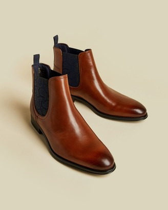 Ted Baker Leather Chelsea Boots
