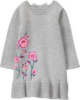 Gymboree Floral Sweater Dress