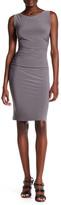 Norma Kamali Sleeveless Ruched Dress