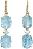 Irene Neuwirth Women's Mixed-Gemstone Triple-Drop Earrings