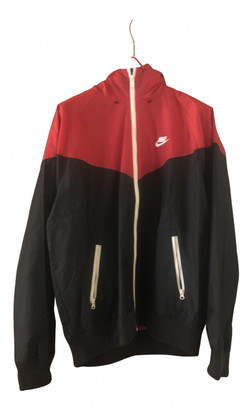 Nike Red Synthetic Jackets