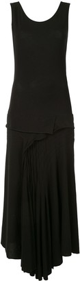 Yohji Yamamoto Asymmetrical Sleeveless Dress