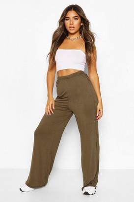 boohoo Petite Extreme Wide Leg High Waisted pants